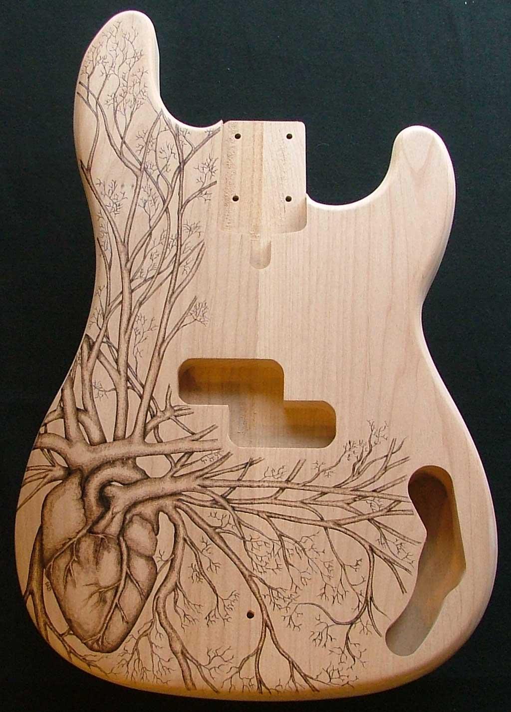 Lichtenberg Wood Burning Art